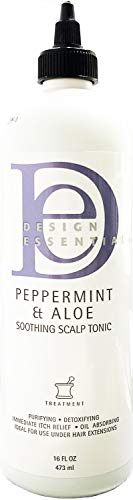 (Design Essentials Peppermint and Aloe Soothing Scalp and Skin Tonic)