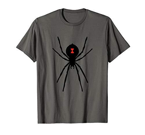 Black Widow Spider Shirt Scary Arachnid Pet Spiders T-Shirt