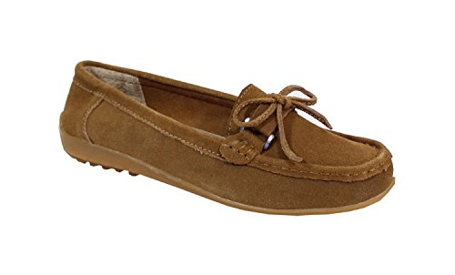 By Shoes -Mocasines ou Náuticos para Mujer Camel