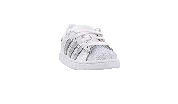 adidas Originals Infant Superstar Sneaker, White, 4K: Amazon