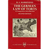 A Comparative Introduction to the German Law of Torts
