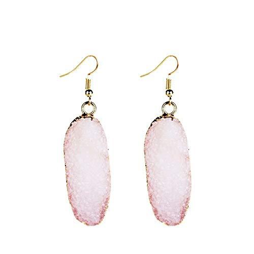 Und Accessoires Geometrische Naturstein Rosa Jewelry Europäische Ohrringe  Amerikanische Übertriebene Nachahmung Mode dCXgqwt 2f570f8a2a