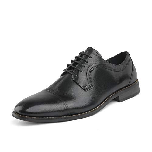 Bruno Marc Men's Black Dress Shoes Cap Toe Oxford Size 15 M US