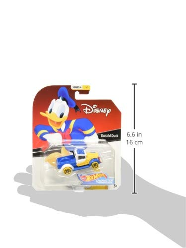 Hot Wheels 2019 Character Cars Donald Duck 1//64 Diecast Model Car