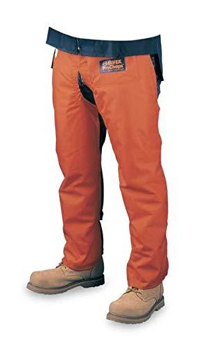 Elvex JE-9036 Prochaps Chainsaw Leg Protector, Capacity, Volume, Nylon, 36'', Orange