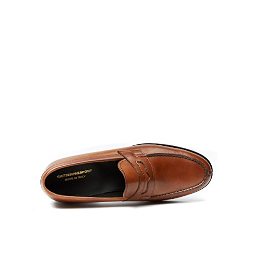 Loafer Dunkelbraun Di Loafer Moro British Flats Passport Herren aXqqYgE