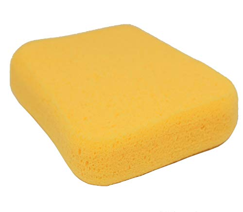 Large Yellow Household Cleaning Sponge - 7-1/2 in. L x 5-1/2 in. W x 2 in. H