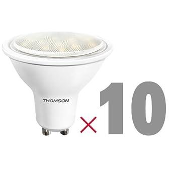Thomson bombilla LED GU10 SMD 3 W 270LM, GU10, 3.0 wattsW: Amazon.es: Iluminación