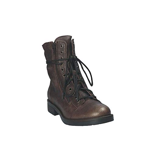 5102 5102 Stivaletto Stivaletto Stivaletto Marrone Donna Mally 39 pwRqwdC