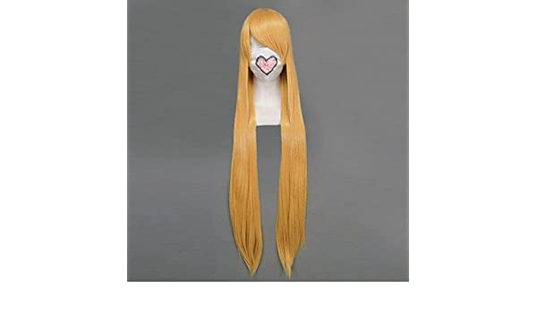 Pelucas de Cosplay - Sailor Moon - de Sailor Venus - Dorado - 100 -: Amazon.es: Deportes y aire libre