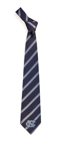 North Carolina Tarheels Mens Striped Neck Tie