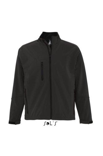 L866 SOL?S Herren Softshell Jacke Relax (bis Größe 3XL) XXL,Black