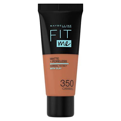 Maybelline New York Fit Me Matte & Poreless Foundation 350 Caramel 30ml