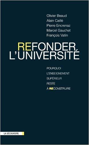Livres gratuits Refonder l'Université epub, pdf