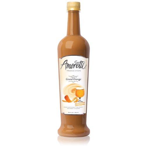 Amoretti Premium Syrup, Crema Di Grand Orange, 25.4 Ounce