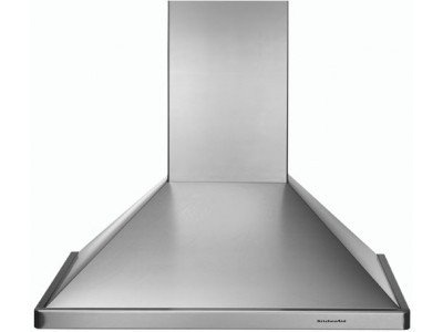 "KitchenAid KWCU205HSS Stainless Steel 30"" Wall Mounted Range Hood with 600 CFM and Fluorescent Lighting"