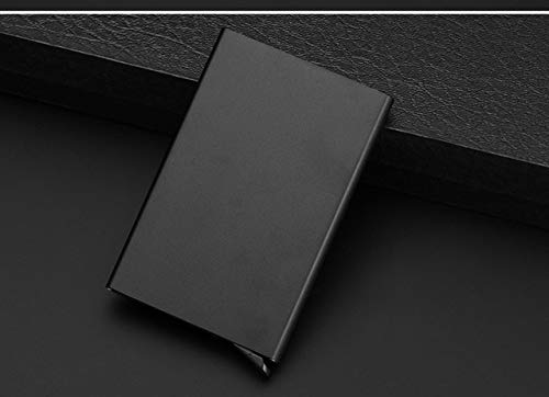 Monaco Life Fashion Function Aluminum Card Case Automatic Pop Up Business Card Holder Men Metal Credit Passport Card Bag ID Card Wallet - 1