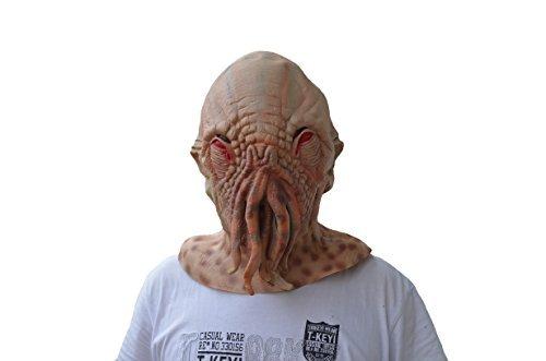 [Doctor Octopus Latex Mask for Mask Festival、halloween、easter or Dance Party] (Latex Alien Mask)