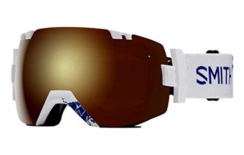 Smith Optics I/OX Adult Snowmobile Goggles Eyewear Xavier Id / Gold Sol-X - Optic Eyewear