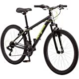 Sleek 24' Mongoose Excursion Boys' Steel Framed All-Terrain 21-Speed Mountain Bike, R1924WM