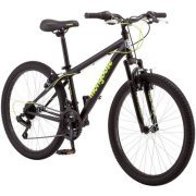"Sleek 24"" Mongoose Excursion Boys' Steel Framed All-Terrain 21-Speed Mountain Bike, R1924WM"