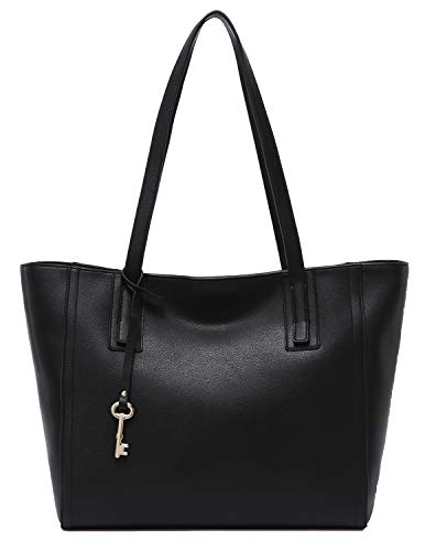 Zipper Shoulder - Obosoyo Women's Handbag Genuine Leather Tote Shoulder Bags Soft Hot