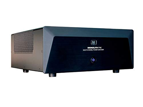 Monolith Multi-Channel Power Amplifier - Black With 7x200 Watt Per Channel