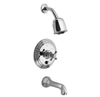 Newport Brass 3-922BP/26 920 Series Pressure Balance Tub/Shower Trim, Polished Chrome by Newport Brass - 922 Tub