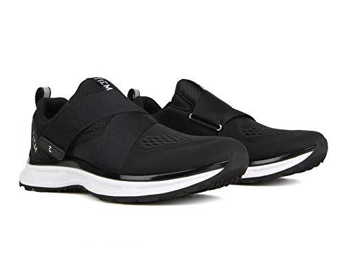 TIEM Slipstream - Black-Black - Indoor Cycling Spin Shoe, SPD Compatible (Women's Size 7.5)