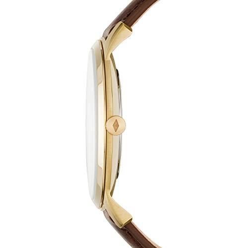 Fossil Men's FS5397 The Minimalist Analog Display Quartz Brown Watch
