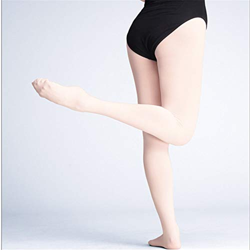Girls Ballet Tights Dance Stockings Seamless Footed Ballet Pantyhose Teen Girl (Pink) by Baroco (Image #3)