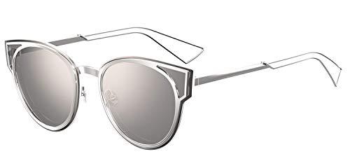Christian Dior DiorSculpt Sunglasses Palladium w/Silver Mirror Lens 63mm 010DC DiorSculpt/S Diorsulpt Dior ()