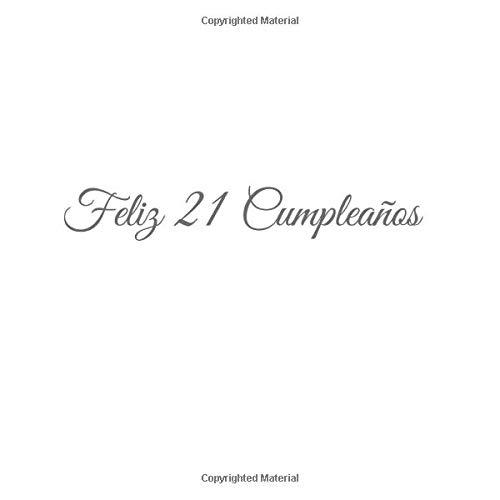 Feliz 21 cumpleaños: Libro De Visitas 21 Años Feliz ...