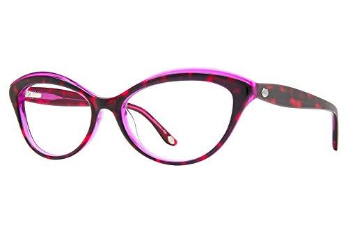 Lulu Guinness L881 Womens Eyeglass Frames - Purple (Lulu Frames)
