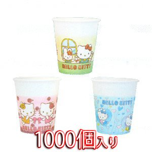 Medicom Hello Kitty Paper Cup 5 Ounces 1000 Count