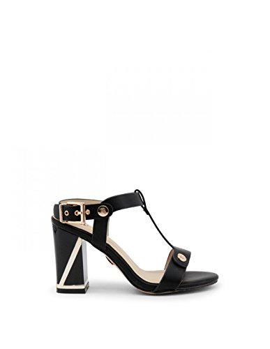And Laura calf 667 Black Mujer Sandalia Biagiotti Gold nvxwY6v1r