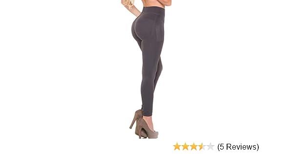 b3a7a10fb9 Aranza Butt Lifting Capri Leggings | Strong Compression Push Up Bands  Azucena Black Small at Amazon Women's Clothing store: