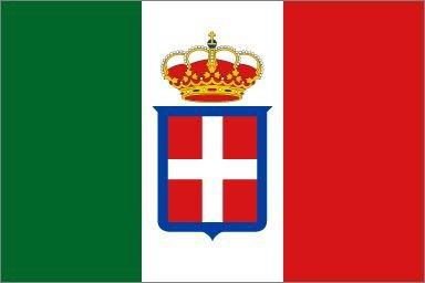 3'x5' ITALIAN FLAG of the KINGDOM of ITALY