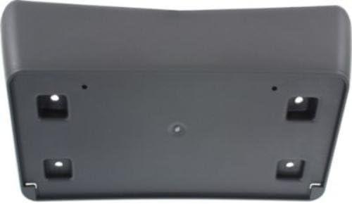 Crash Parts Plus Front Black License Plate Bracket for 2011-2014 Dodge Challenger CH1068129 CPP
