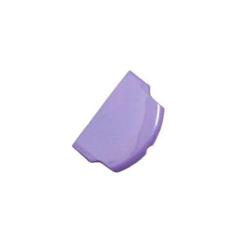 OSTENT Battery Protector Cover Door Repair Parts Replacement Compatible for Sony PSP 2000/3000 Color Purple