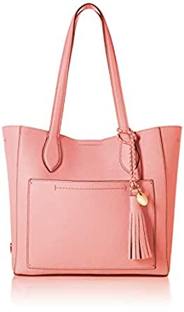 Cole Haan Women's Piper Small Leather Tote, flamingo pink
