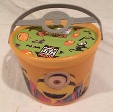Minion Halloween Bucket, Mcdonald's Happy Meal Premium