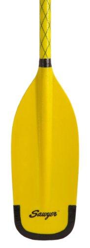 Sawyer Pro Stick Wood/Fiberglass Whitewater Canoe Rafting Paddle - Yellow - 62 in