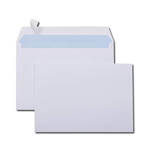 Bianco 162 x 229 mm GPV Busta C5 Confenzione da 500