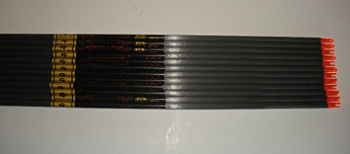 Gold Tip Hunter 5575/400 Carbon Arrow Shafts 2Dz./24 Shafts