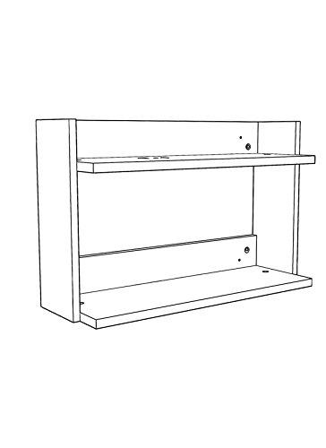 Aerial Shelf R-A6 - Floating Shelves/Floating Shelf by RTA Disegno (Image #3)