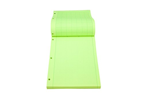 Roaring Spring Engineering Pad, 8.5'' x 11'', Green, 200 sheets by Roaring Spring (Image #6)