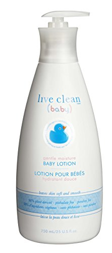 Live Clean Baby Moisturizing Baby Lotion, 25 oz by Live Clean