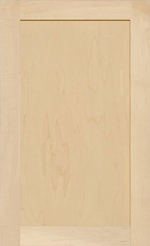 28h Cabinets (Unfinished Maple Shaker Cabinet Door by Kendor, 28H x 17W)