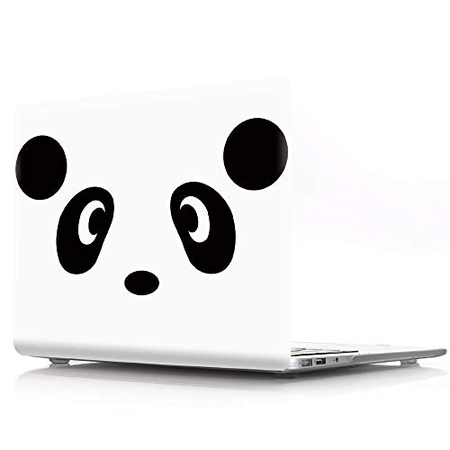MacBook Air 13 Case, HRH Panda Design Pattern Glossy Matte Clear Case Cover for Apple MacBook Air 13 inch (Model: A1369 and A1466),Not Compatible 2018 Version A1932